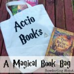 DIY Harry Potter Book Bag
