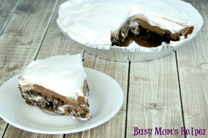 Creamy Chocolate Layered Pie