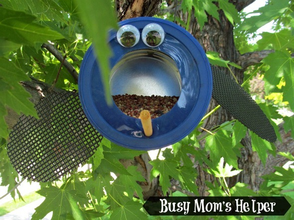 Craft Lightning: Ladybug Bird Feeder Summer Camp Craft / by Busy Mom's Helper #summercamp #kidcraft