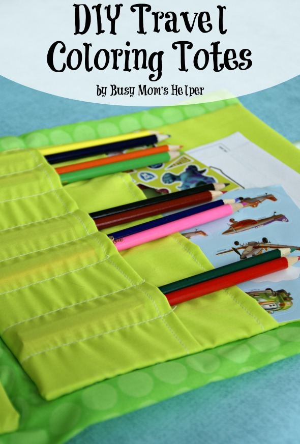 DIY Travel Coloring Tote / by Busy Mom's Helper
