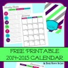 Free Printable 2015 Planner and Calendar / by Busy Mom's Helper #freeprintables #2015planner #cuteplanner