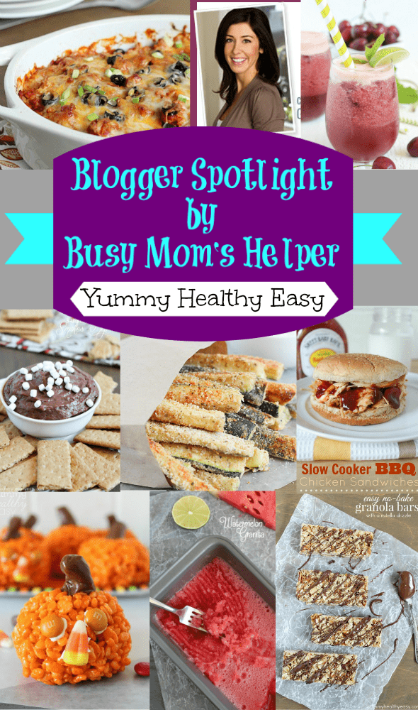 Blog Spotlight: Yummy Healthy Easy / by Busy Mom's Helper #blogspotlight #favoritebloggers #yummyfood