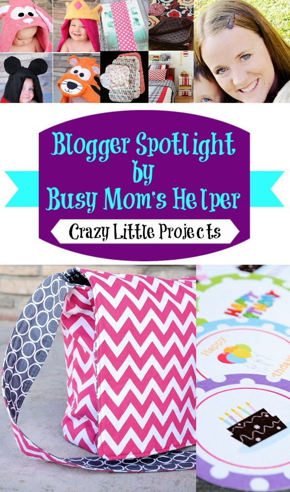 Blog Spotlight: Crazy Little Projects / by Busy Mom's Helper #blogspotlight #favoritebloggers