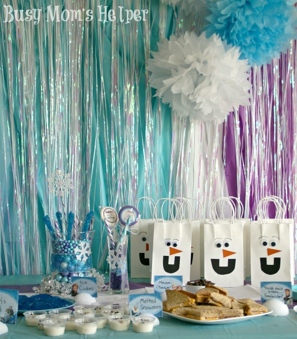 Frozen Birthday Party - Busy Mom's Helper