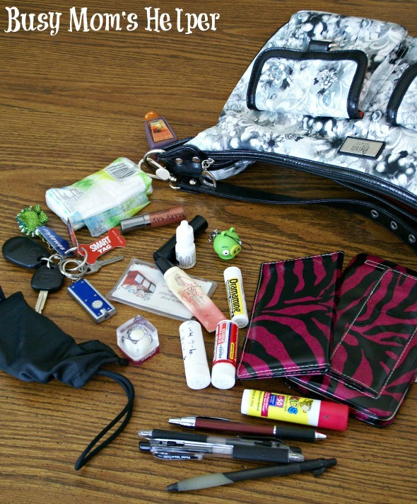 What's In Your Handbag / by Busy Mom's Helper #whatsinyourhandbag #personal