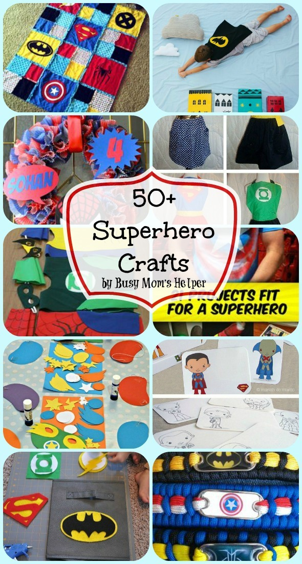 Avengers Crafts For Kids