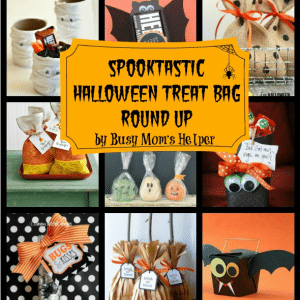 Tons of Halloween Treat Bag Ideas!