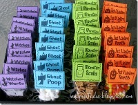 Spooktastic Halloween Treat Bag Round Up / by Busy Mom's Helper #Halloween #TreatBags