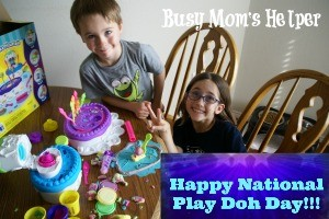 Happy National Play Doh Day with Busy Mom's Helper