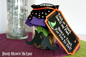 Trick or Treat Smell My Feet Halloween Gift