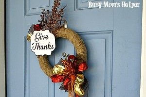My $3 Fall Wreath Makeover