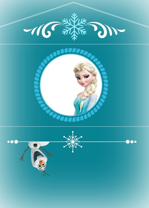 Frozen Birthday Party Busy Moms Helper – Party Invitation Envelopes