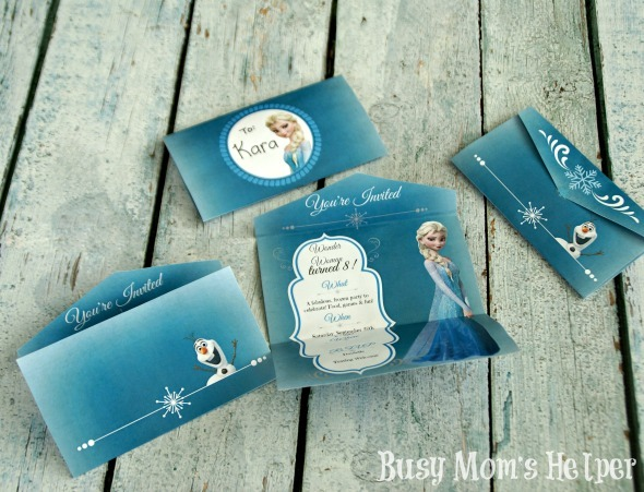 Free Disney Frozen Birthday Invitations ~ Frozen birthday party busy mom s helper