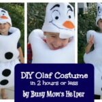 DIY Olaf Costume in 2 hours or less