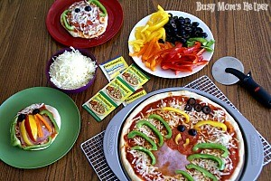 Family Fun with Creepy Mini Pizzas