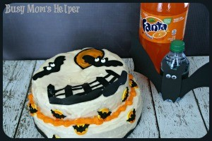 Two Ingredient Fanta Cake & Dasani Bats Printable