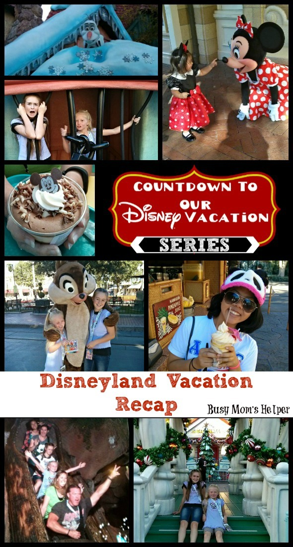 Disneyland Vacation Recap / by Busy Mom's Helper