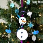 Build Your Own Snowman Mobile Kids Craft