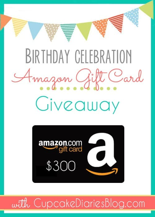 $300 Amazon Gift Card Giveaway