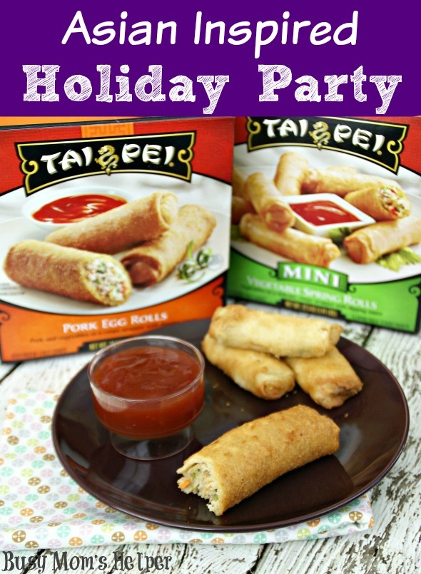 Asian Inspired Holiday Party / by Busy Mom's Helper #TaiPeiGoodFortune #Ad