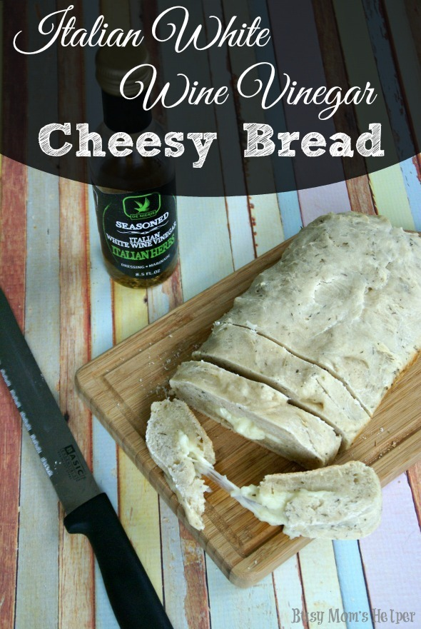 Italian White Wine Vinegar Cheesy Bread Busy Mom S Helper