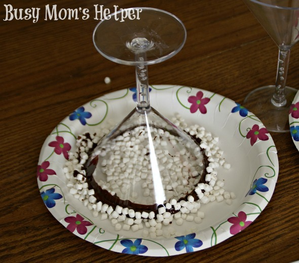 Chocolate Rimmed Party Glasses / by Busy Mom's Helper #Parties #Chocolate #NewYears #Christmas