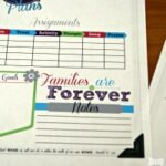 Family Home Evening Planner Printables