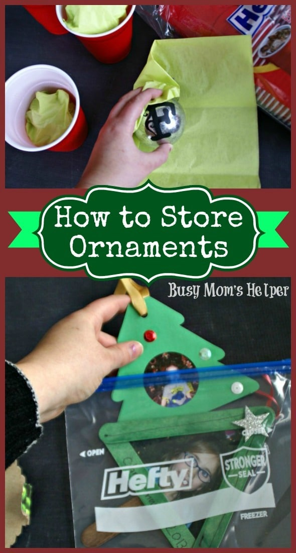 How to Store Ornaments / by Busy Mom's Helper #HeftyHoliday #organization