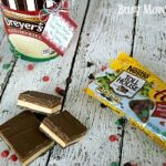 Chocolate Dessert Bar Holiday Recipe & Ice Cream Printable
