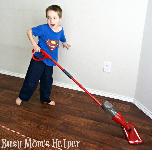 How to Make Chores Fun: Floor Cleaning to Windows / by Busy Mom's Helper #CleanForTheHolidays #Ad #kids #cleaning