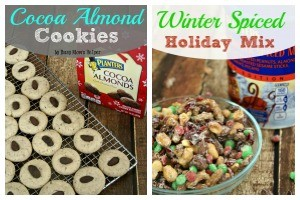 Cocoa Almond Cookies & Winter Spice Holiday Mix