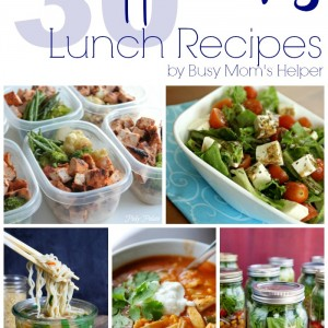 30 Healthy Lunch Recipes