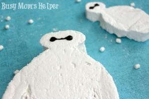 Homemade Baymax Marshmallows