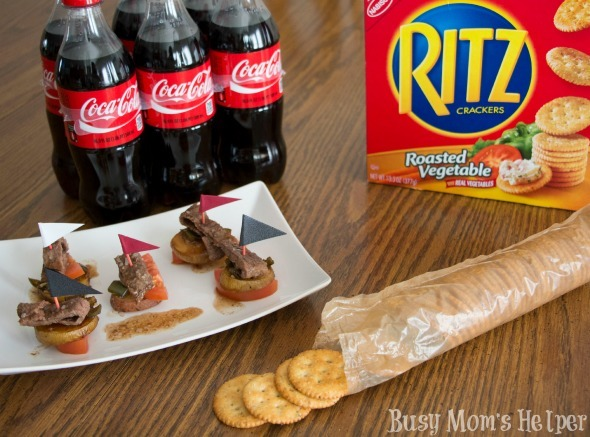 Coke Marinated Steak Bites / by Busy Mom's Helper #PrepareToParty #Ad #steak #BigGame
