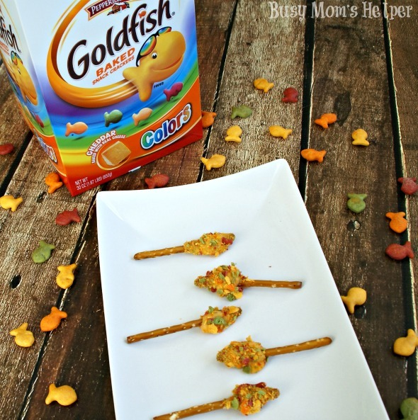 Cheesy Goldfish Snacks / by Busy Mom's Helper #GoldfishMix #CollectiveBias #ad #snacks
