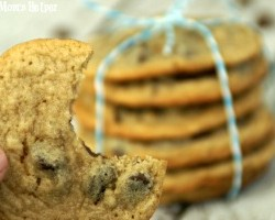 Nestle Tollhouse Vs. Dad's Recipe: The Healthier Cookie / by Busy Mom's Helper #cookie #chocolatechip #heatlhy #recipe