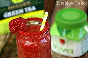 Simple Homemade Strawberry Lemonade / by Busy Mom's Helper #SweetWarmUp #Ad
