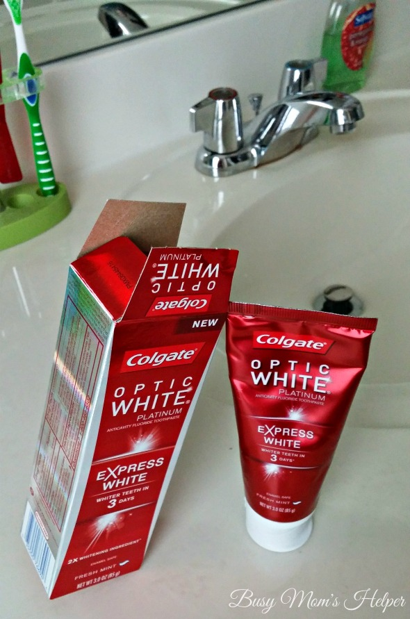Whiter Teeth in 3 Days* PLUS a Printable / by Busy Mom's Helper #OpticSmiles #Ad