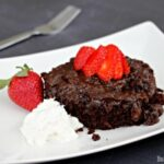 Dr Pepper Chocolate Pudding Cake