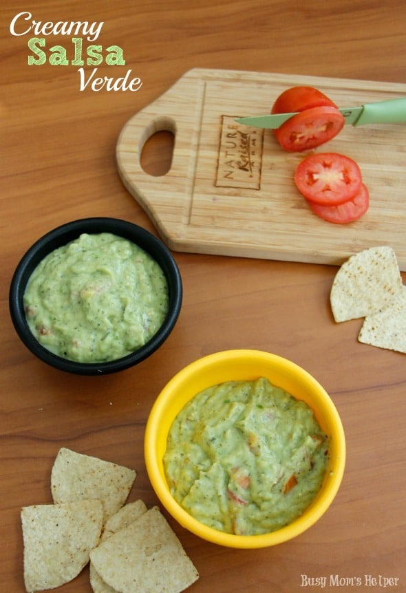 Salsa Verde / by Busy Mom's Helper #salsa #verde #dip #snack