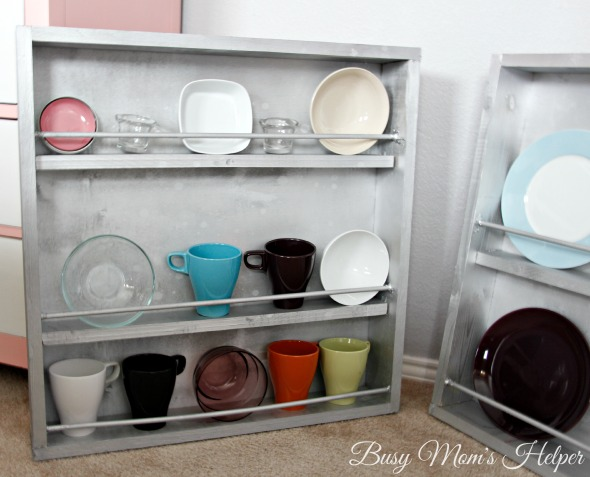 DIY Dish Display Cabinet / by Busy Mom's Helper #showmetheshine #ad