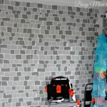 Easily Make a Brick Wall with Stencils