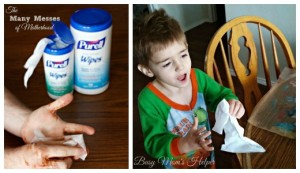 The Many Messes of Motherhood / by Busy Mom's Helper #PurellWipes #ad @walmart