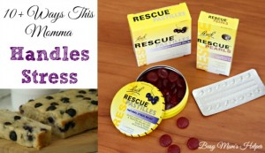 10+ Ways This Momma Handles Stress / by Busy Mom's Helper #StressLess2BmyBest #CG #Ad