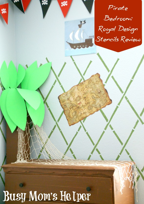 Easily Make a Brick Wall with Stencils / by Busy Mom's Helper
