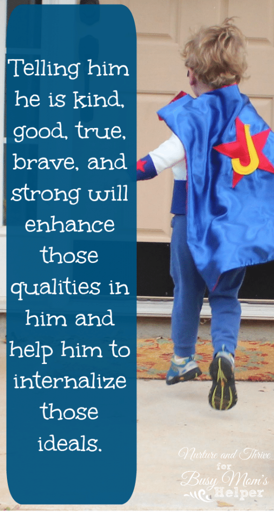 How to Build Up Your Child by Nurture and Thrive Blog for Busy Mom's Helper