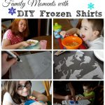 Family Moments with DIY Frozen Shirts