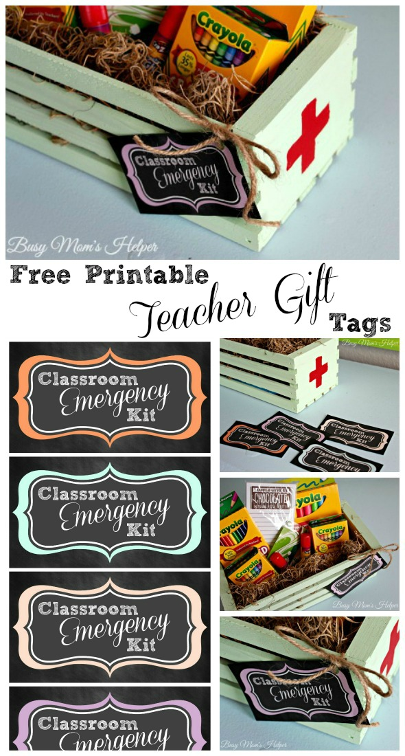 Free printable teacher gift tags busy moms helper free printable teacher gift tags by busy moms helper negle Images