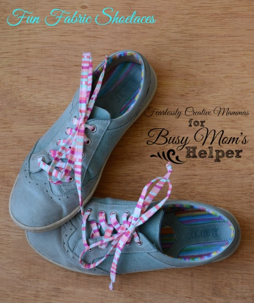 Fun Fabric Shoelaces