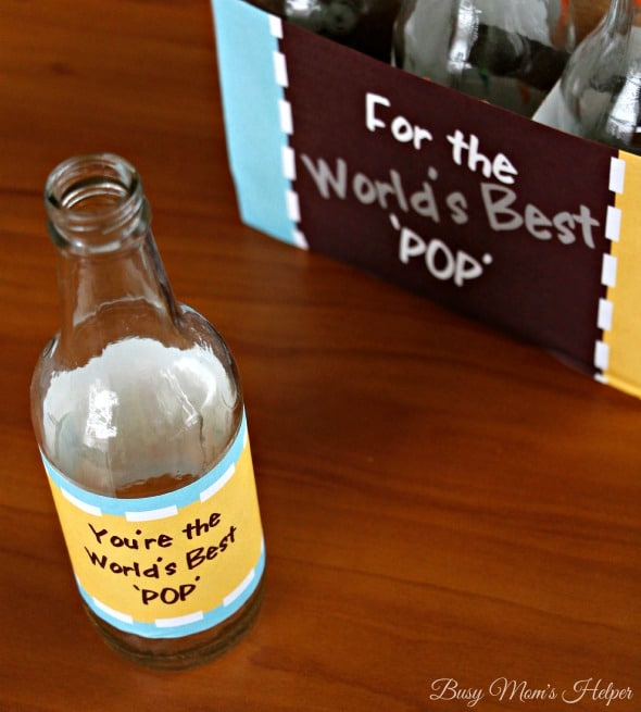 World's Best 'POP' Father's Day Soda Bottle Printables / by Busy Mom's Helper